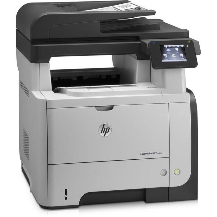 МФУ, лазерная черно-белая печать HP LaserJet Pro M521dn (A8P79A), А4, Duplex