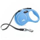 Рулетка Flexi  New Classic S (до 15 кг) 5 м лента, синяя