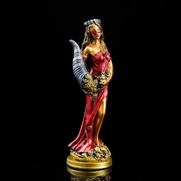 """Сувенир """"Фортуна"""" красное платье"""