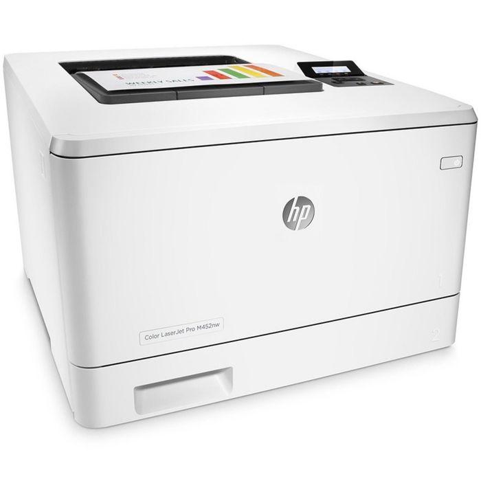 Принтер лазерный цветной HP Color LaserJet Pro M452nw (CF388A), А4, LAN, WiFi
