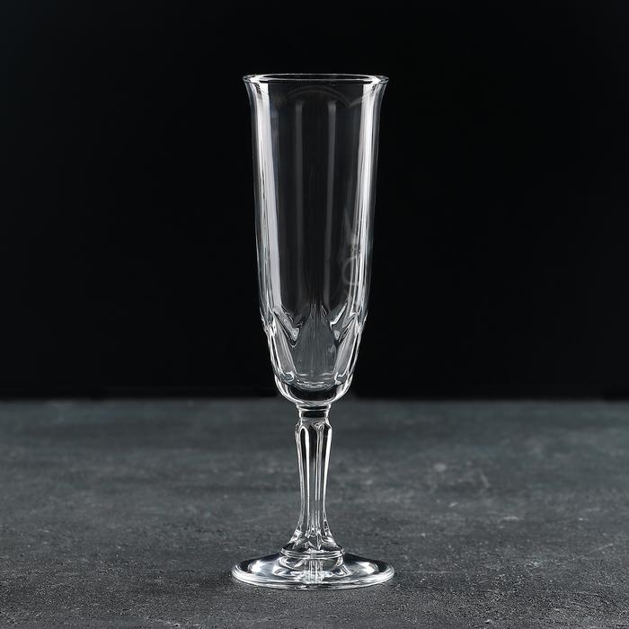 Бокал для шампанского Paşabahçe «Карат», 163 мл - фото 308063261