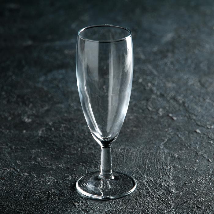 """Бокал для шампанского 155 мл """"Банкет"""" - фото 308063268"""