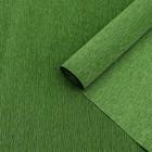 "Бумага гофрированная, 991 ""Зелёный лист"", 50 см х 2,5 м"
