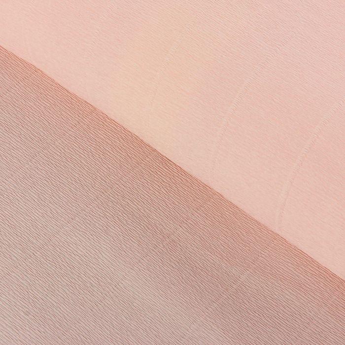 "Бумага гофрированная, 969 ""Светло-розовая"", 50 см х 2,5 м - фото 424433"