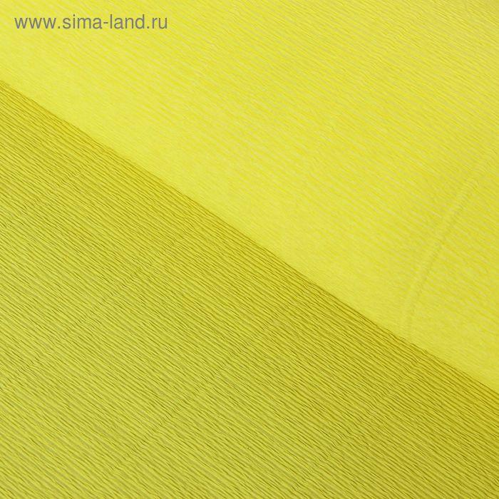 Бумага гофрированная 974 карминно-желтая, 50 см х 2,5 м