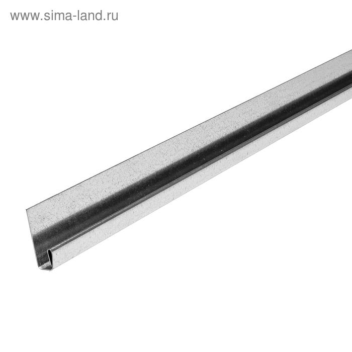 Стартовый профиль металлический (L-2000мм) DÖCKE-R