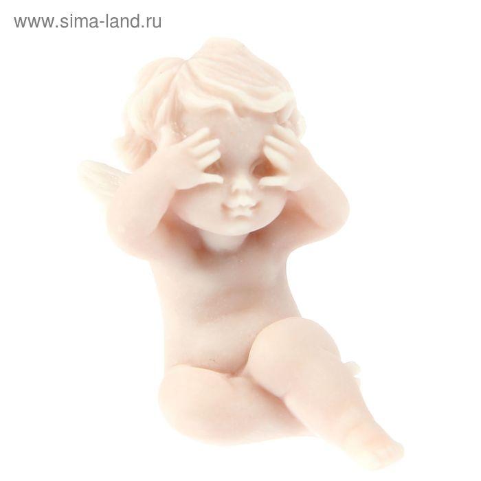 """Сувенир """"Ангелочек подглядывающий маленький"""""""