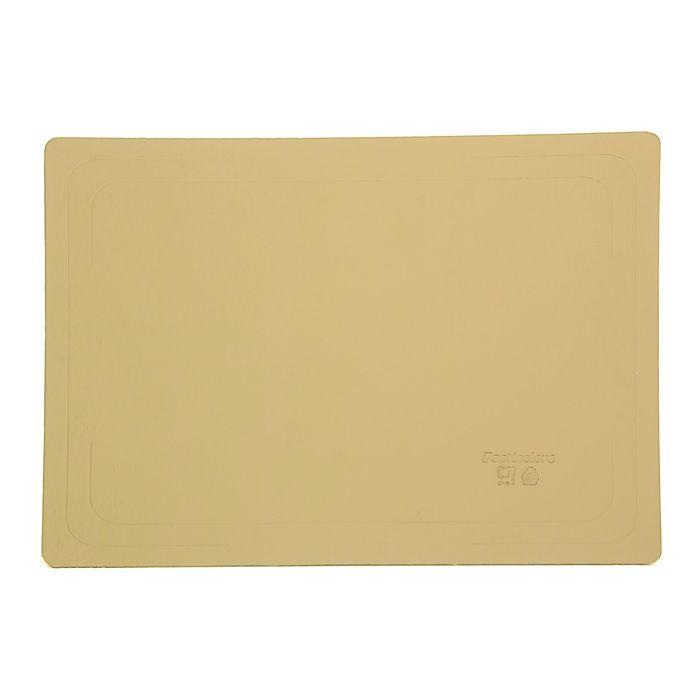 Подложка усиленная, 30 х 40 см, золото, 2,5 мм - фото 289258685