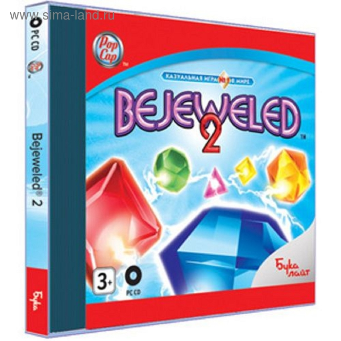 PC: Bejeweled 2-CD-jewel