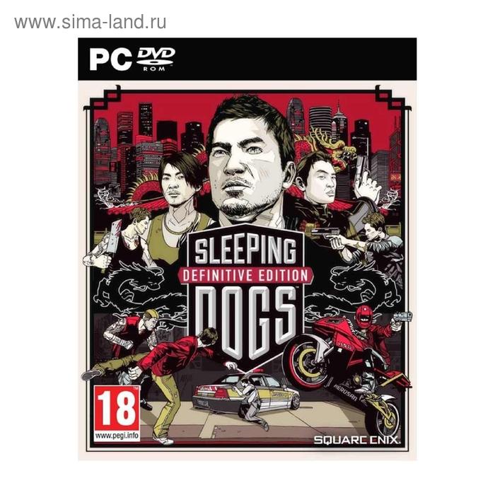 PC: Sleeping Dogs Definitive Edition – DVD-Box