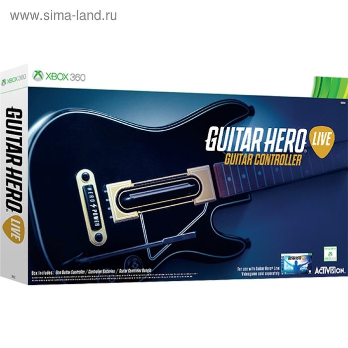 XBOX 360: Guitar Hero Live Controller. Гитара