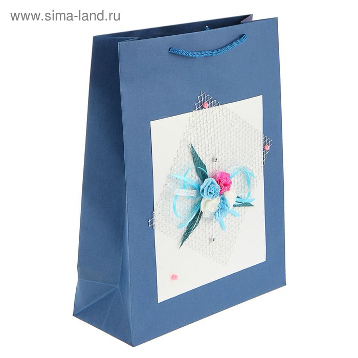 "Пакет подарочный ""Симпатия"" 32 х 25 х 10 см"