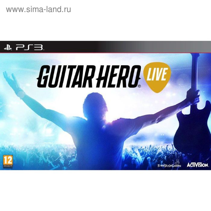 PS3: Guitar Hero Live Controller. Гитара