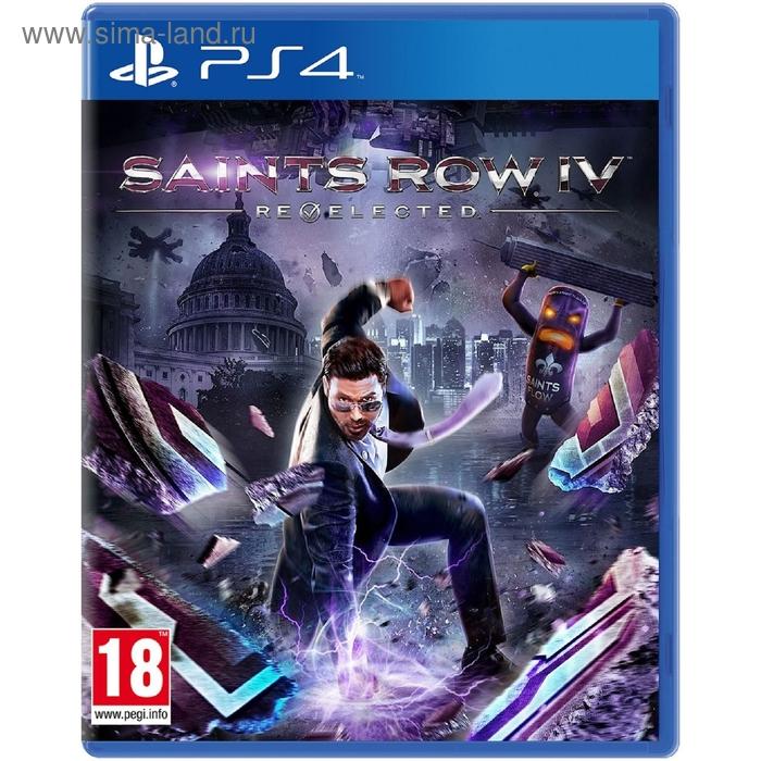 PS4:  Saints Row IV - Re-Elected