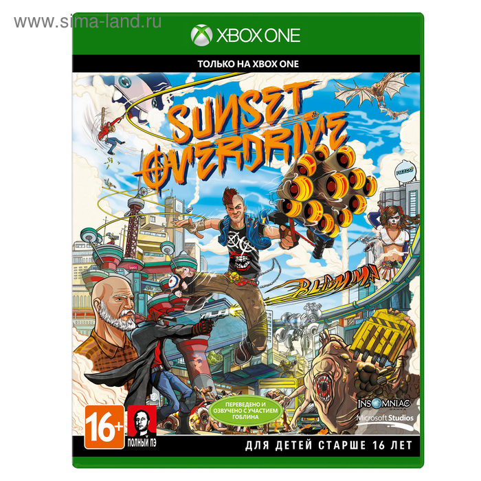 XBOX One: Sunset Overdrive. Рус. версия (3QT-00028)
