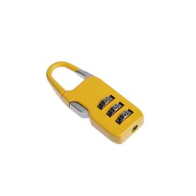Замок навесной TRODOS CL510A, кодовый, желтый