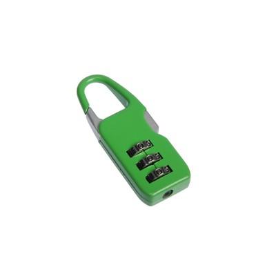 Замок навесной TRODOS CL510A, кодовый, зеленый