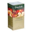 Чай Гринфилд Vanilla Cranberry black tea 25п*1,5 гр.
