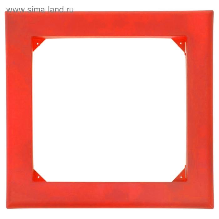 Рамка для фитокартины, цвет красный