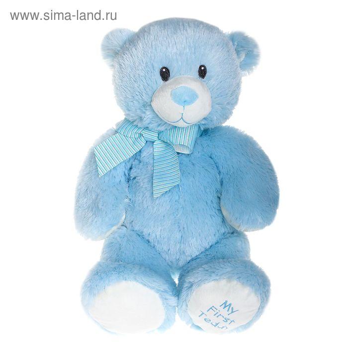 """Мягкая игрушка """"Медвежонок"""", цвет голубой"""