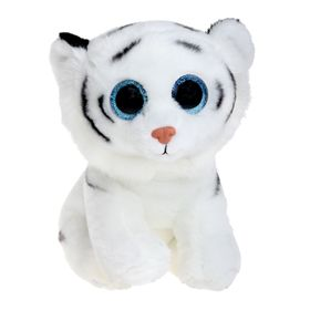 Мягкая игрушка «Тигрёнок Tundra», цвет белый