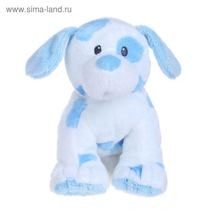 Мягкая игрушка «Щенок Pups Pink», цвет голубой