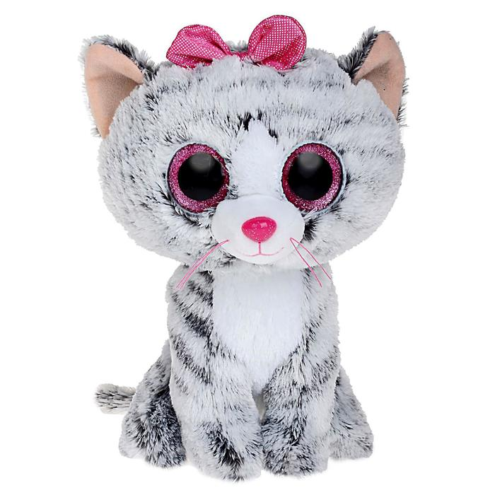 Мягкая игрушка «Кошка Kiki», цвет серый