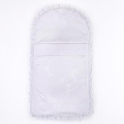 """Конверт на молнии """"Эдельвейс"""", размер 65х35 см, цвет белый 11005"""