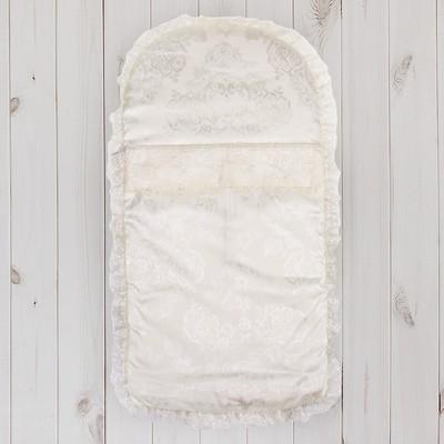 """Конверт на молнии """"Эдельвейс"""", размер 75х40 см, цвет молочный 11005"""