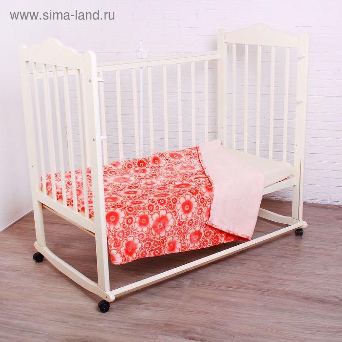 Плед детский, размер 100х150 см, цвет МИКС 23101