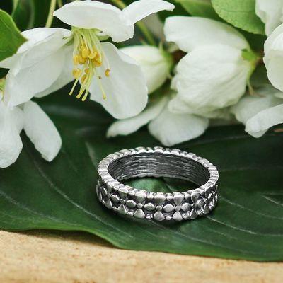 """Кольцо """"Умласио"""", размер 19, цвет чернёное серебро"""