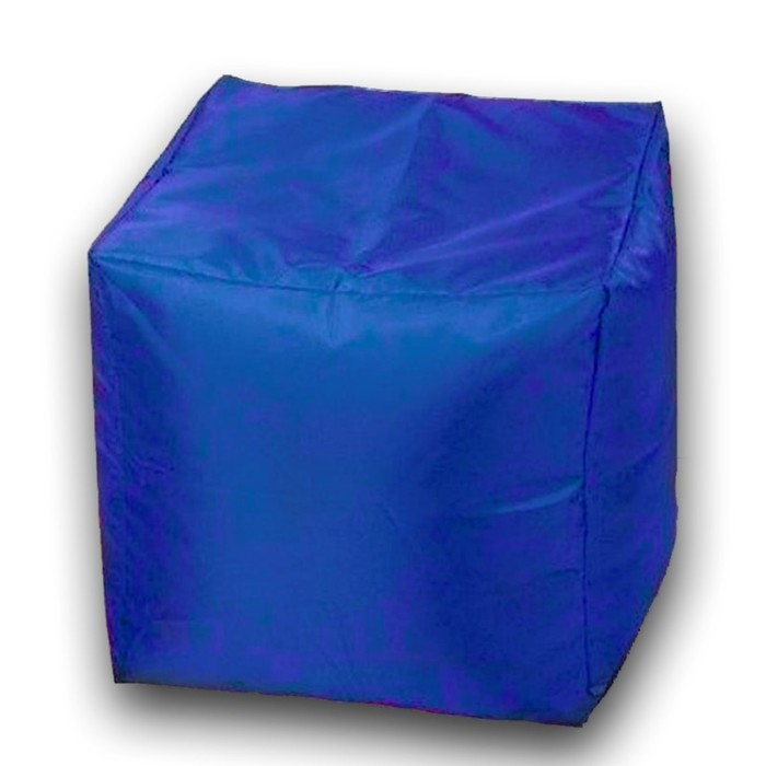 Пуфик Куб мини, ткань нейлон, цвет синий