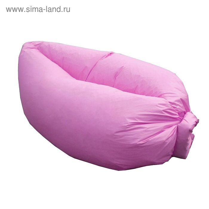 Кресло-лежак Надувной, ткань нейлон, цвет розовый