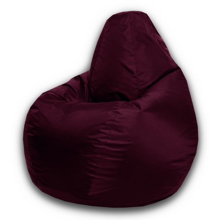 Кресло-мешок Малыш, ткань нейлон, цвет бордовый