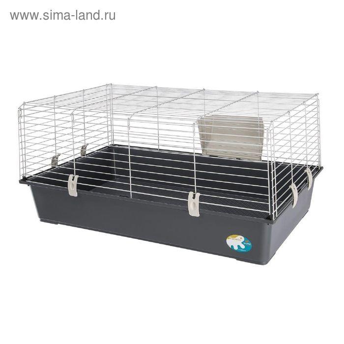 Клетка Ferplast Rabbit 100 для кроликов, 95х57х46 см, микс цветов