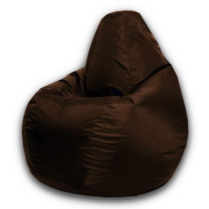 Кресло-мешок Стандарт, ткань нейлон, цвет коричневый