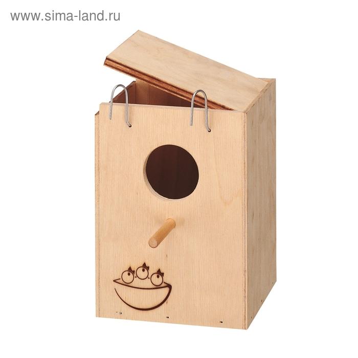 Скворечник Ferplast Nido для птиц, 13х12х17 см, малый
