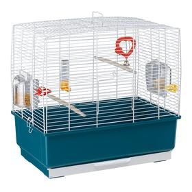 Клетка Ferplast Rekord 3 для птиц, 50х30х48 см, белая