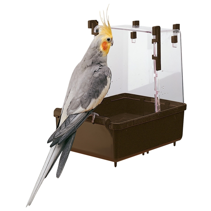 Купалка Ferplast L101 для птиц, 23,5х15,5х24 см