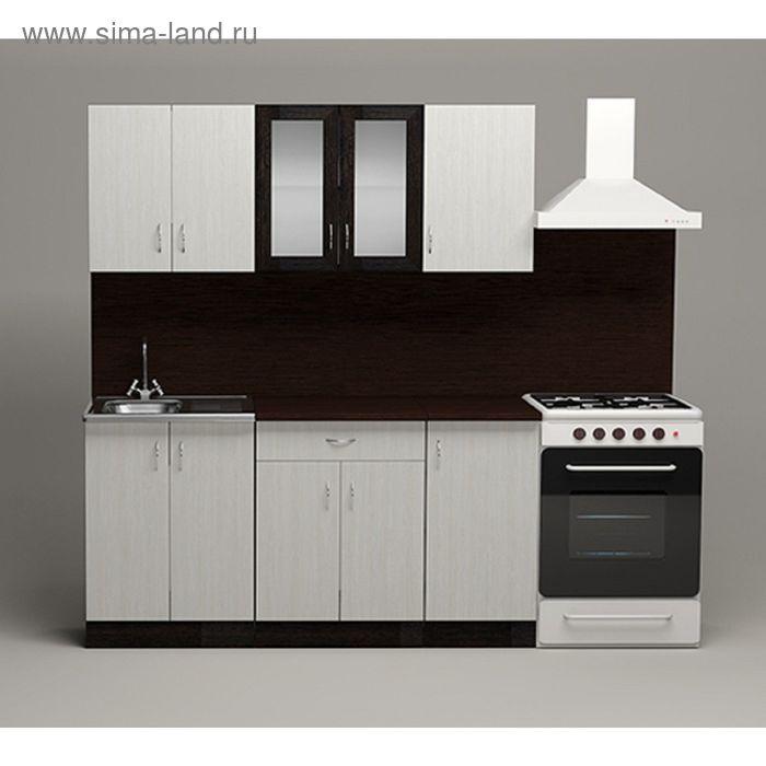 Кухонный гарнитур Астра Выбеленное дерево 1600