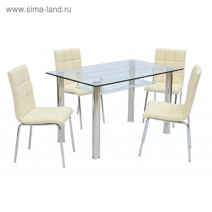 Стол обеденный Мега прозрачный