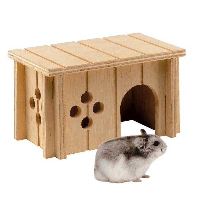 Домик деревянный Ferplast SIN 4641 для мышей