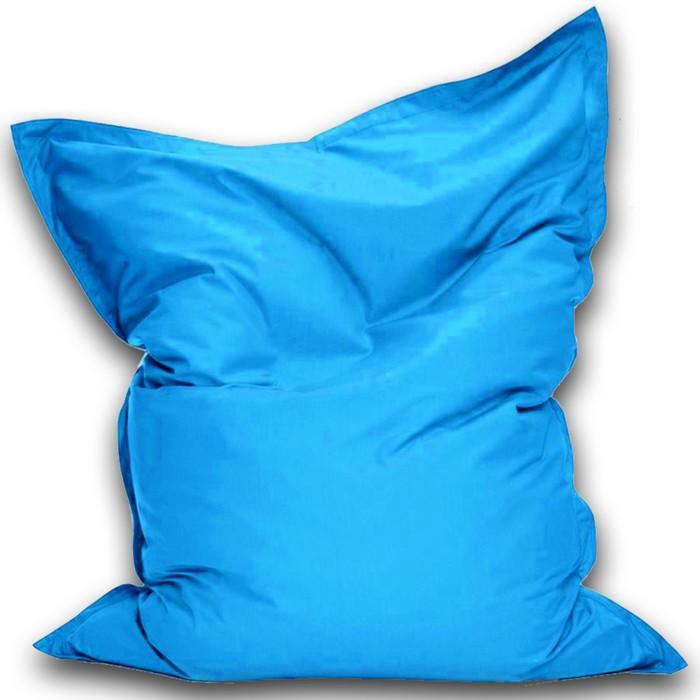 Кресло-мешок Мат мини, ткань нейлон, цвет голубой