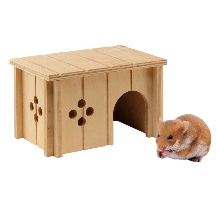 Домик деревянный Ferplast SIN 4642 для хомяков
