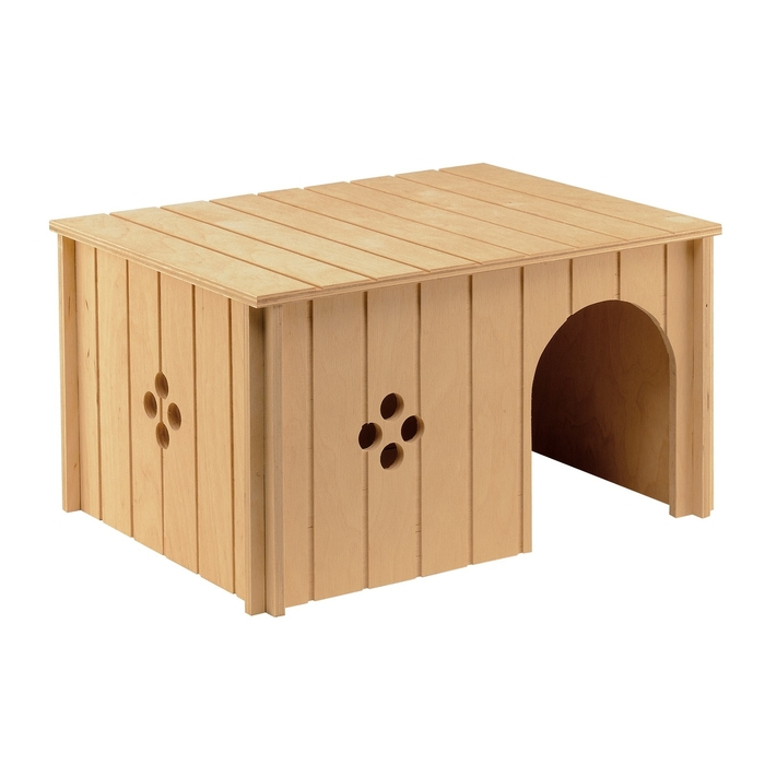 Домик деревянный Ferplast SIN 4647 для крупных грызунов