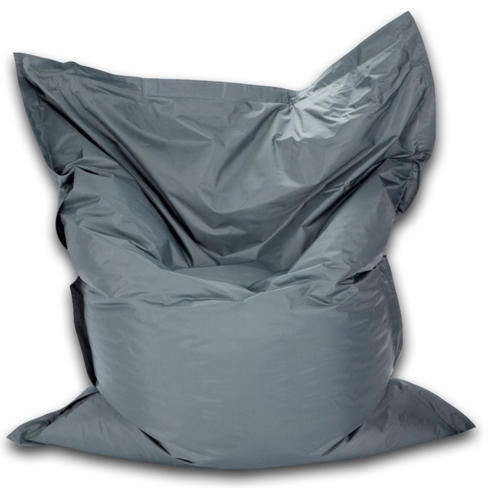 Кресло-мешок Мат мини, ткань нейлон, цвет серый