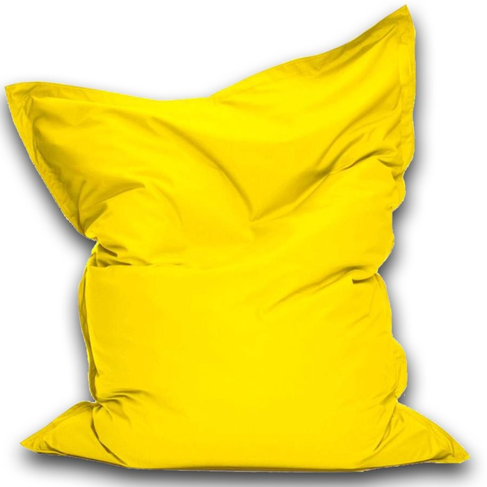 Кресло-мешок Мат макси, ткань нейлон, цвет желтый