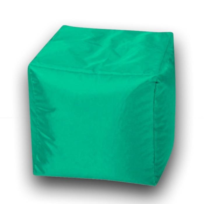 Пуфик Куб мини, ткань нейлон, цвет бирюзовый