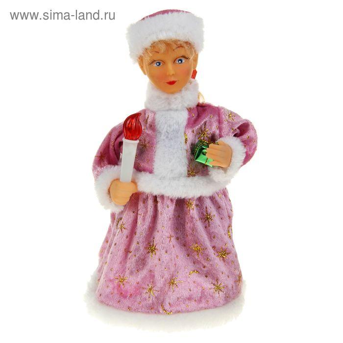 Снегурочка в розовой шубке (русская мелодия)