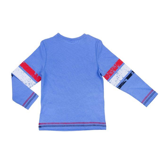 Джемпер для мальчика, рост 122 см, цвет голубой (арт. Н558_Д)